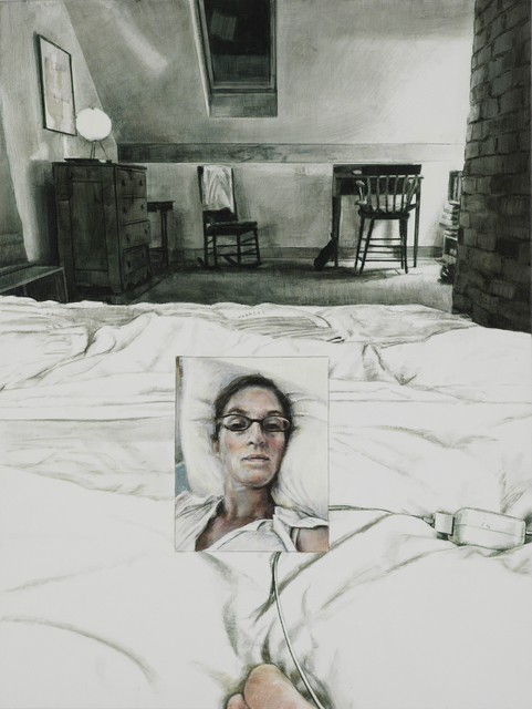, 'Embedded Housebed ,' 2017, Lora Schlesinger Gallery