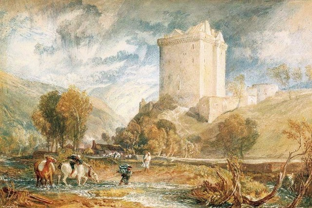 , 'Borthwick Castle,' 1818, Indianapolis Museum of Art at Newfields