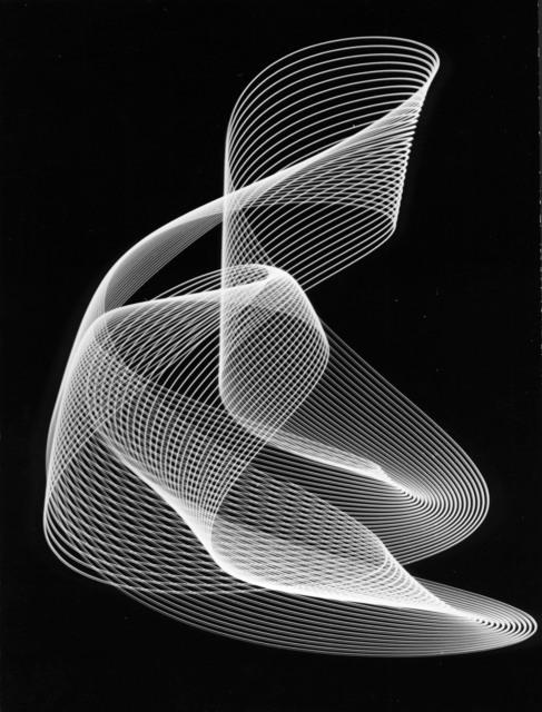, 'Untitled, Rhythmogram no. 3782/166,' 1950, SCHEUBLEIN + BAK