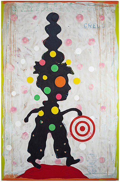 John Randall Nelson, 'You're a Pampered Child', 2020, Painting, Mixed media on panel, Sue Greenwood Fine Art
