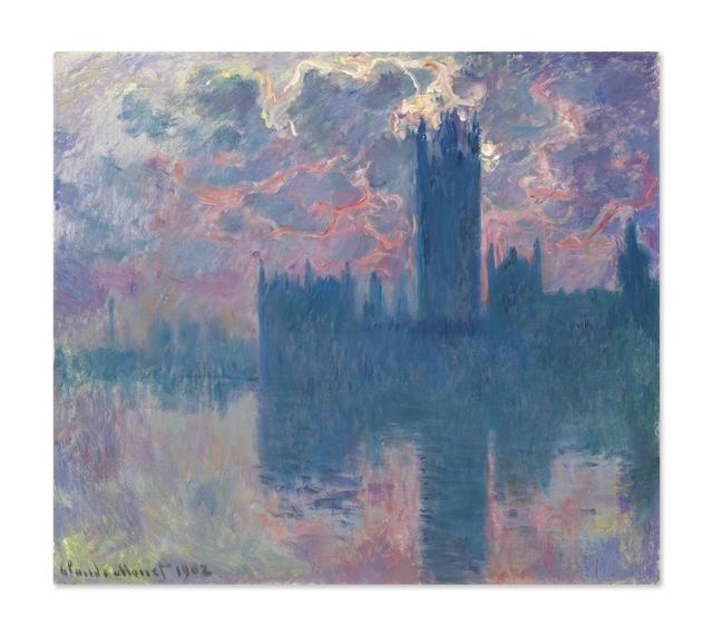 Claude Monet, 'Le Parlement, soleil couchant (The Houses of Parliament, at Sunset)', 1900-1901, Christie's