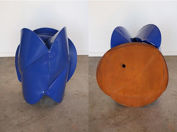 , 'Foton Blue,' 2014, Renate Bender