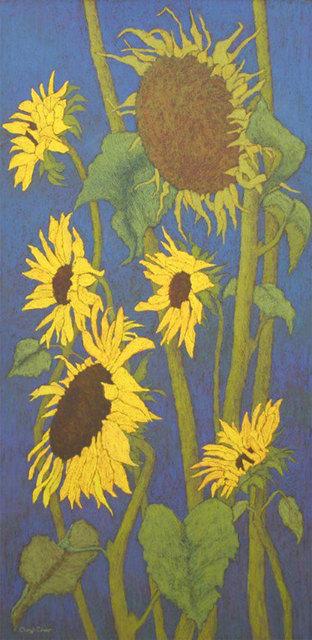 Cheryl Culver, 'Sunflowers', 2019, M1 Fine Art