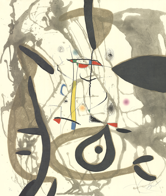 Joan Miró, 'The Pine Tree of Formentor (Plate 2)', 1976, ArtWise