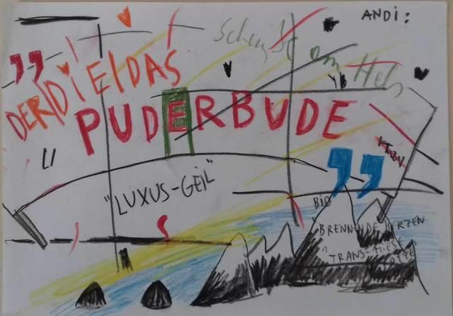 , 'Der/Die/Das Puderbude,' 2010, Galerie Crone