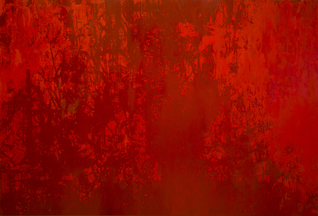 , 'Faded Memory Red #2,' 2014, Contemporary by Angela Li