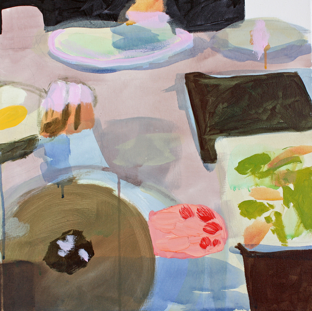, 'Lunch With Meredith (March Snow of New York),' 2016, G. Gibson Gallery