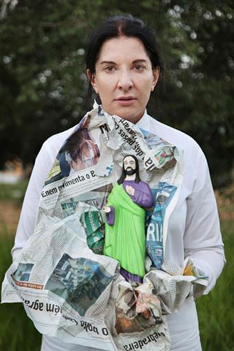 """, '""""Portrait with Jesus"""",' 2015, Luciana Brito Galeria"""