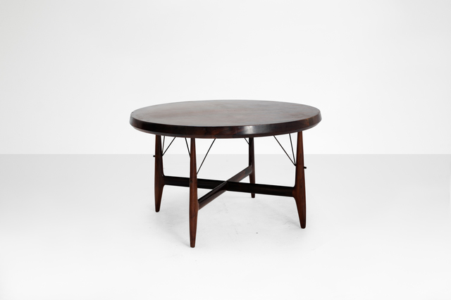 """, 'Round dining table model """"Stella"""",' 1956, Side Gallery"""