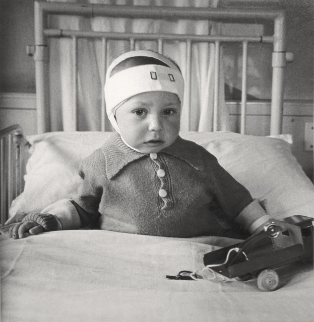 , 'Portrait of a Child Injured in the Blitz, Queen Charlotte's Hospital, London,' 1942, Beetles + Huxley