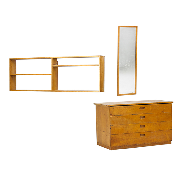 Marcel Breuer, 'Chest Of Drawers, Shelf, and Mirror', ca. 1938, Rago/Wright