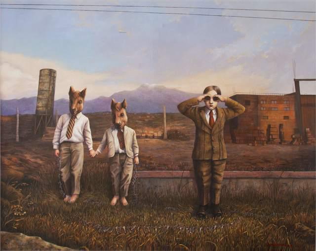 , 'Ancora de la infancia,' 2017, Nuun Espacio de Arte