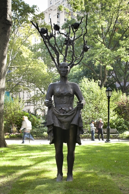 , 'Fall,' 2010, Madison Square Park