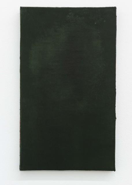 Ria Bosman, 'GELEEFD', 2020, Painting, Acrylic on leather, Tatjana Pieters
