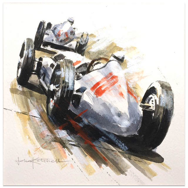 , '1938 German Grand Prix,' 2008-2016, Whyte Fine Art