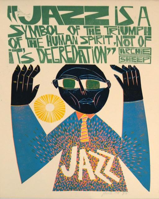 , 'Jazz is a Symbol of..., Archie Sheep,' 1995, Waterhouse & Dodd