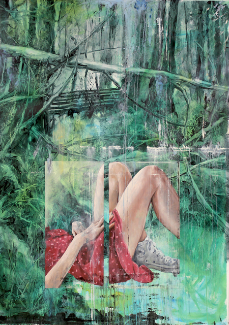 , 'White Dots,' 2018, Kloser Contemporary Art