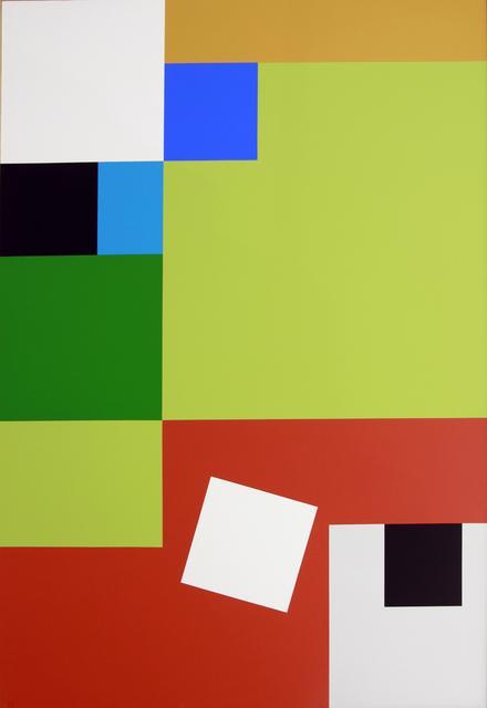 , 'Carré blanc,' 2008, Galerie Denise René