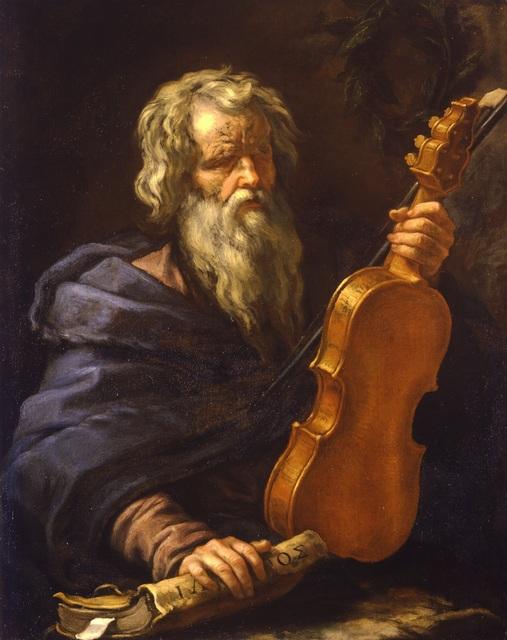 , 'Portrait of Homer with a violin ,' , Robilant + Voena
