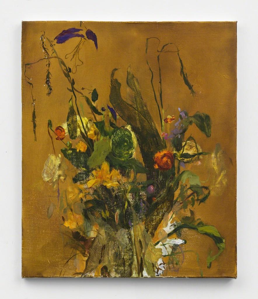 JENNIFER PACKER, HOLD, 2017. COURTESY OF THE ARTIST AND CORVI-MORA, LONDON.