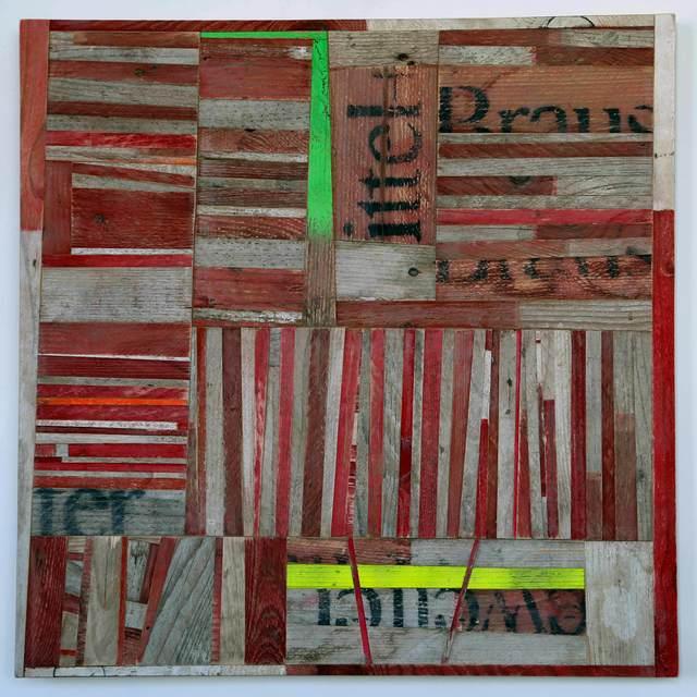 , '156 Streifen,' 2016, Christine König Galerie