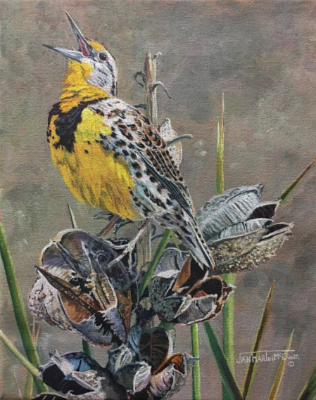 , 'Country Western Song - Meadowlark,' , Trailside Galleries