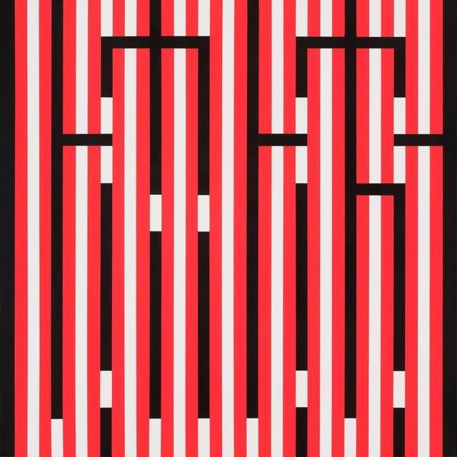 , 'Fluo Lines,' 2017, Vroom & Varossieau