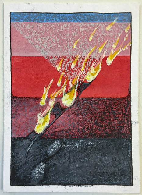 , 'Flame,' 2017, The Southern