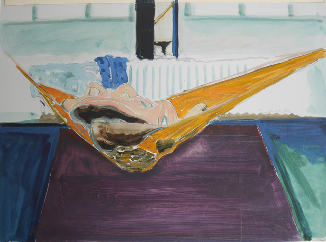 , 'O. T. (Hängematte),' 1973, Galerie Ostendorff