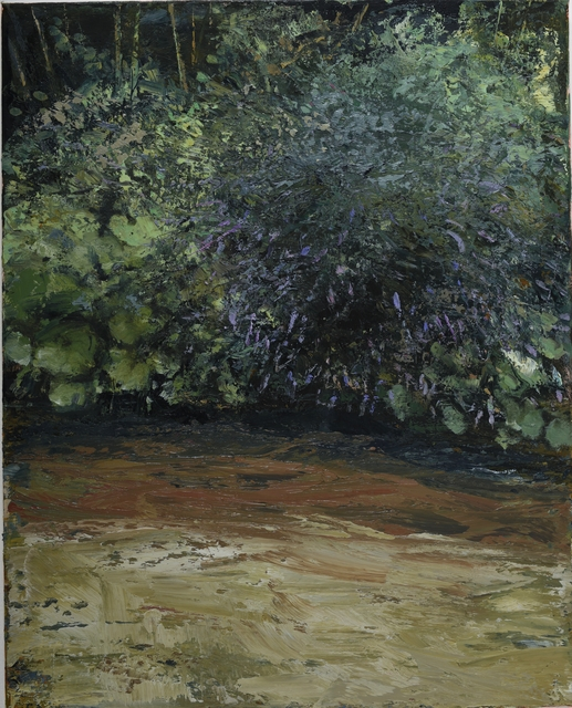 , 'Riverbank with Buddleja IV,' 2017, Oliver Sears Gallery
