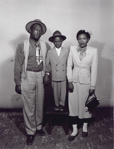 , 'Anderson Collection: A Family of Three, Standing in the Studio  ,' , Charles Schwartz Ltd.