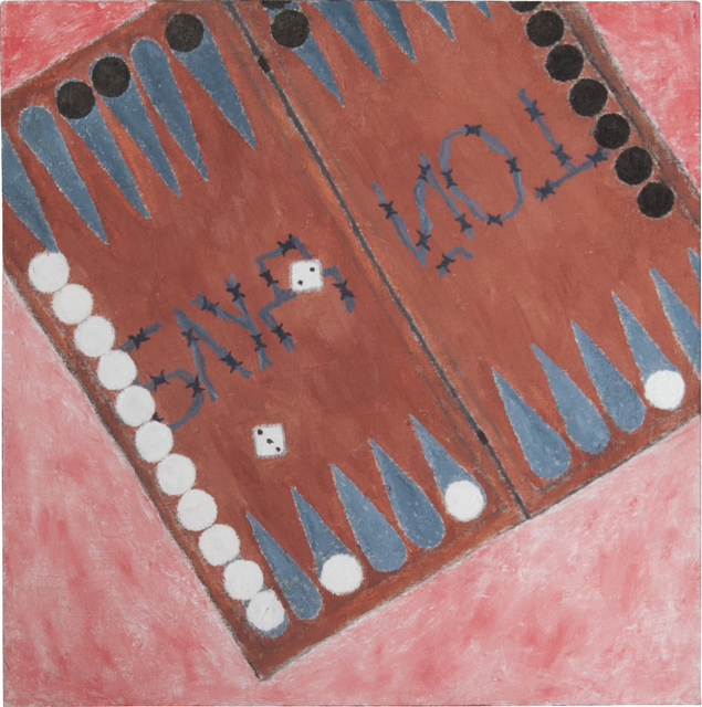 , 'Backgammon,' 2014, TOLK Gallery