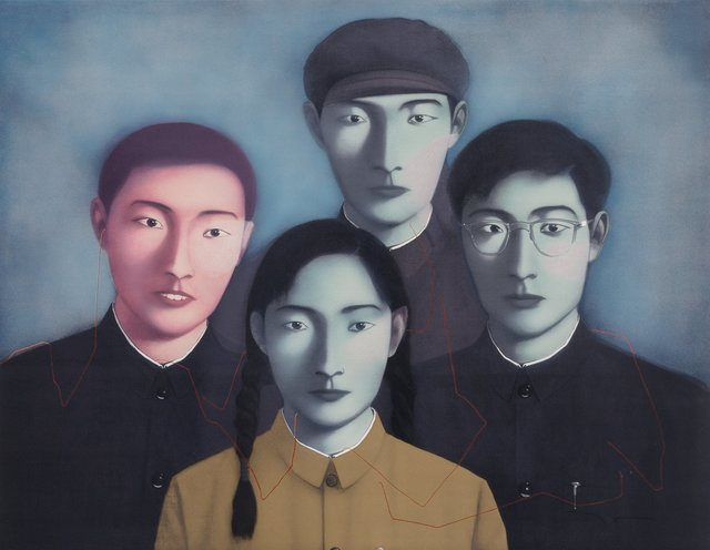 Zhang Xiaogang, 'Bloodline Big Family No. 1', 2006, Heritage Auctions