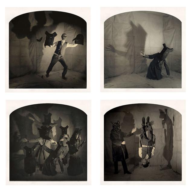 , '(Clockwise, start top left)The Dark Puppeteer, Anime,World on its Head,Kabuki,' , Yancey Richardson Gallery