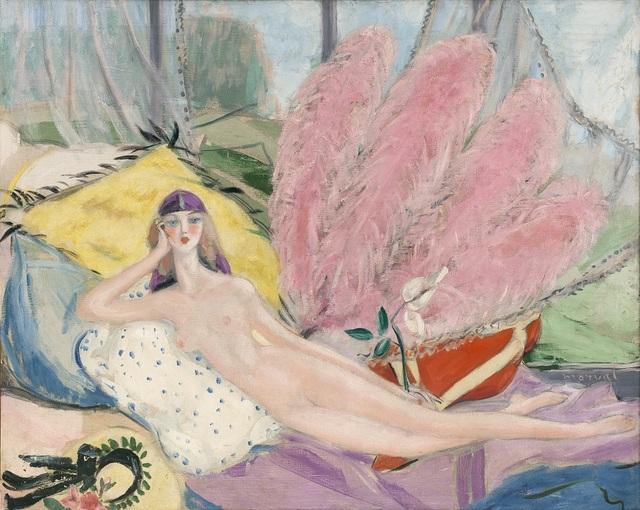 , 'L'Etrange Femme,' 1920, Artvera's Art Gallery