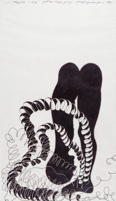 , 'Ein Moment wie ein Zungenschlag,' 1977, Suzanne Tarasieve