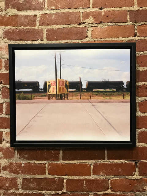 , 'Here it is on Route 66,' 2018, Mason-Nordgauer Fine Arts Gallery