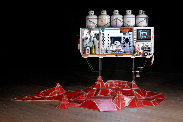 , 'EDL (Entry, Descent, Landing),' 2010, Tom Sachs Studio