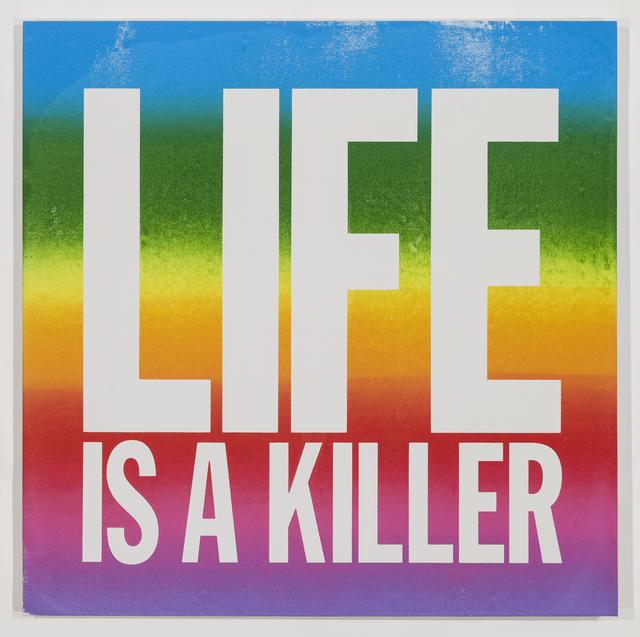 , 'LIFE IS A KILLER,' 2015, Palais de Tokyo