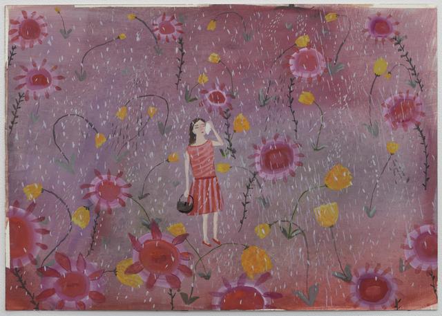 , 'Happy Sunflowers Go Boo Hoo Hoo,' 2014, Lora Schlesinger Gallery