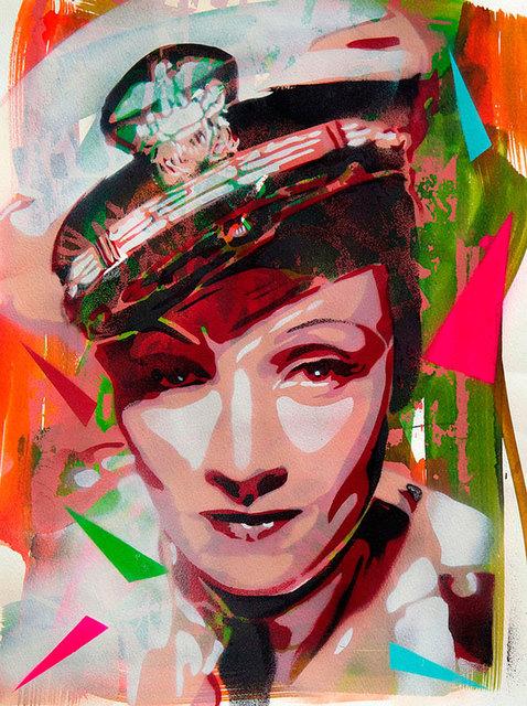 """, '""""Marlene Dietrich"""",' 2012, sc gallery"""