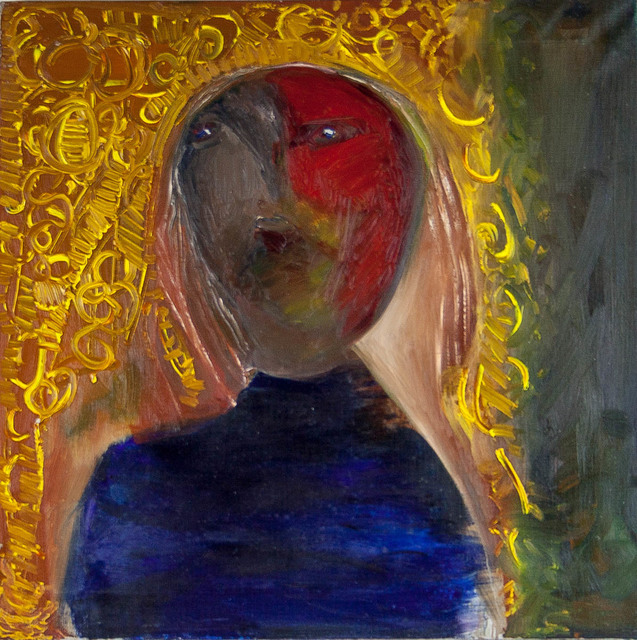Anne Marie Marie Hall, 'Untitled (Golden Locks)', ca. 1960s, Painting, Oil on canvas, Angela Tandori Fine Art