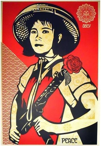 Shepard Fairey (OBEY), 'Revolution Girl - Artist Proof', 2009, Hang-Up Gallery