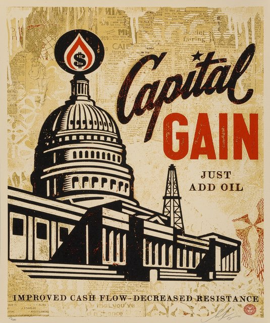 Shepard Fairey, 'Capital Gain', 2015, Heritage Auctions