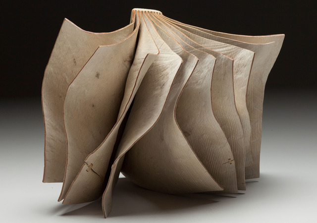 Christian Burchard, 'Book Number 5', 2014, Books and Portfolios, Artist Book, Bleached Madrone Burl, Seager Gray Gallery