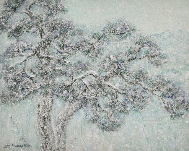 Hyun Ok Park, 'Spring snow', 2014, Gallery Jung