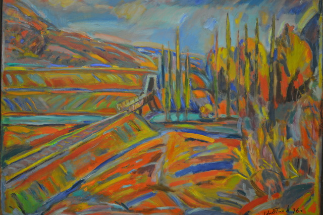 , 'Spring in the North Caucasus,' 1976, Museum Painting Gallery