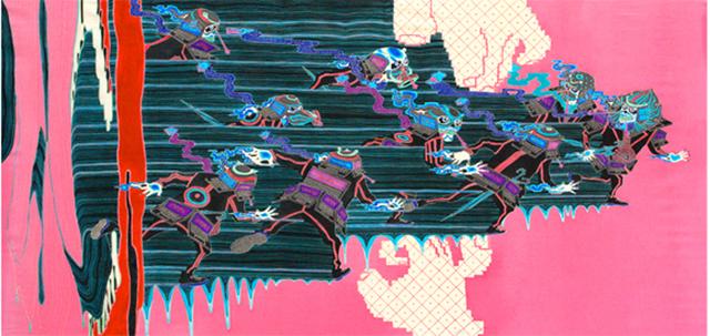 , 'On the Ticket Barrier,' 2013, Zane Bennett Contemporary Art