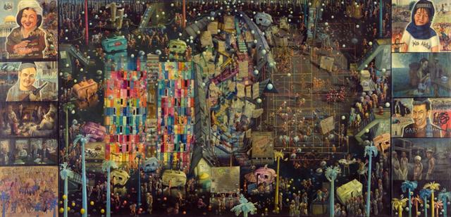 , 'What Happens When Pretend Politicians Pretend to Be Terrorists,' 2011, Ronald Feldman Gallery
