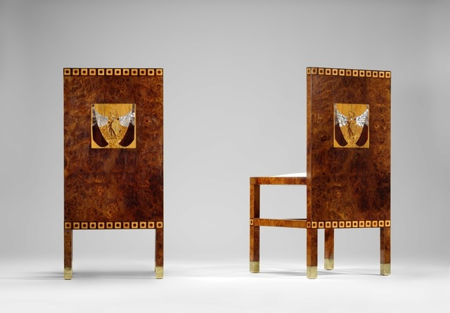 , 'Pair of deckchairs,' 1901, Yves Macaux